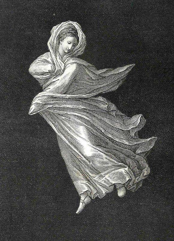 Abb. 5b| Umsetzung einer Tänzerin in den Antichità di Ercolano esposte, Band III, Tafel 28 © LDA Sachsen-Anhalt