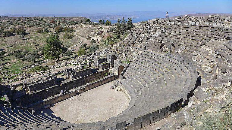Römisches Theater von Gadara / Umm Qais