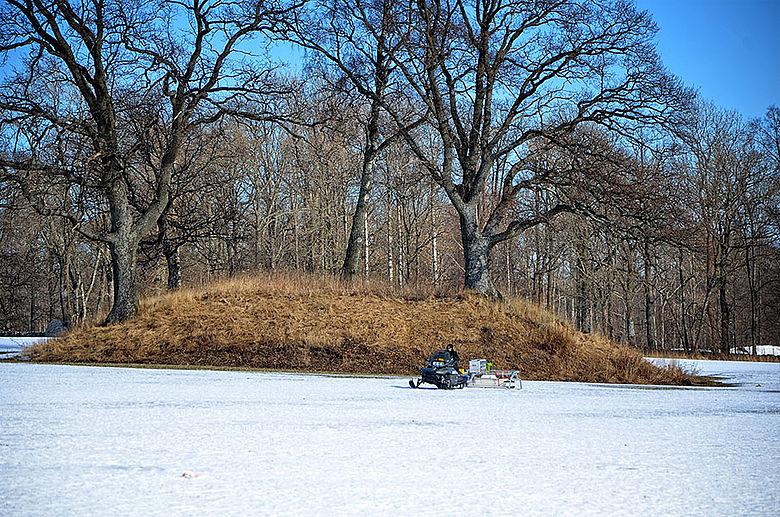 Bodenradar im Wintereinsatz