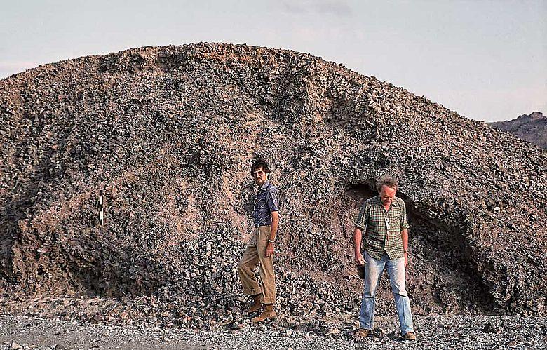 Eisenzeitliche Schlackenhalde im Oman
