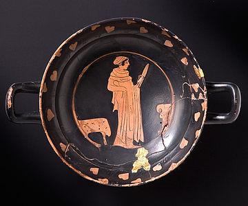 Griechische Trinkschale vom Kleinaspergle