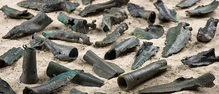 Hortfund der späten Bronze-/frühen Eisenzeit