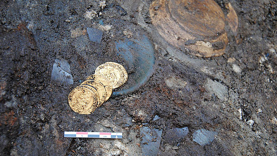 Goldmünzen Frankfurt/Oder