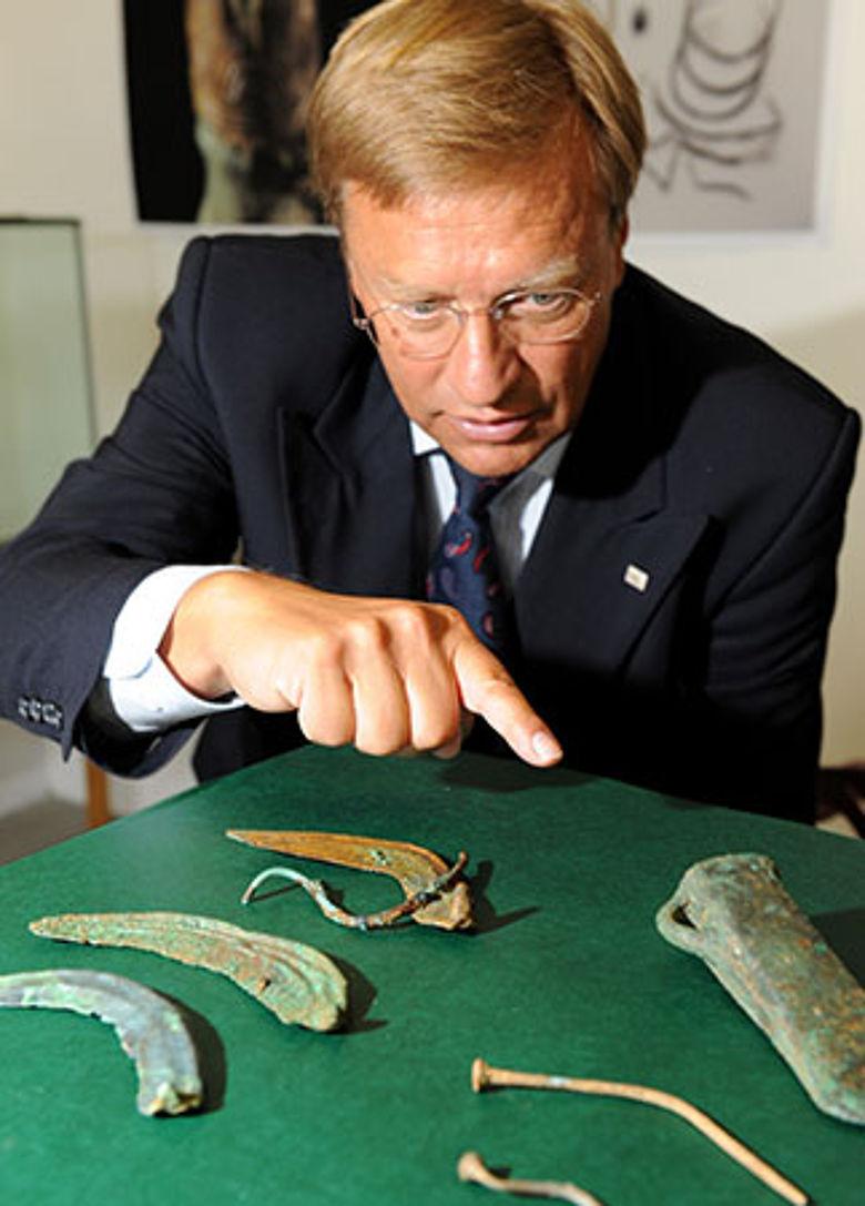 Bronzesicheln 1000 v.Chr.