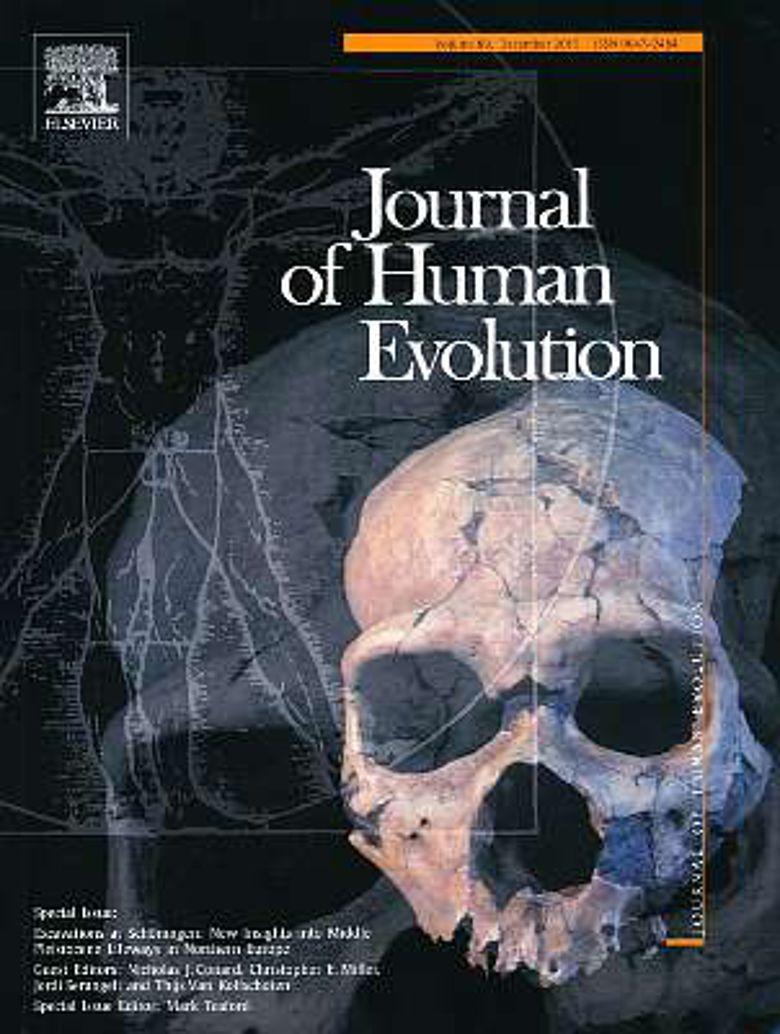 Cover des Sonderbandes des renommierten Wissenschaftsjournal Journal of Human Evolution