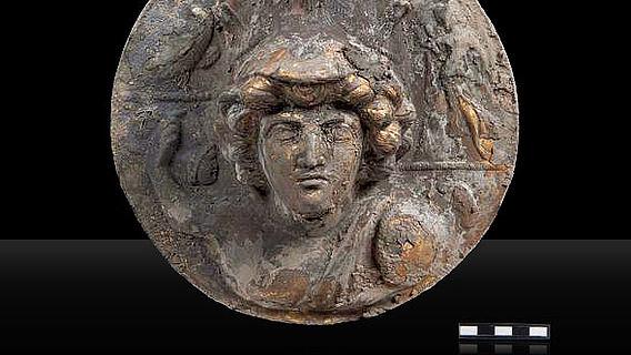 Minerva-Medaillon aus Welzheim