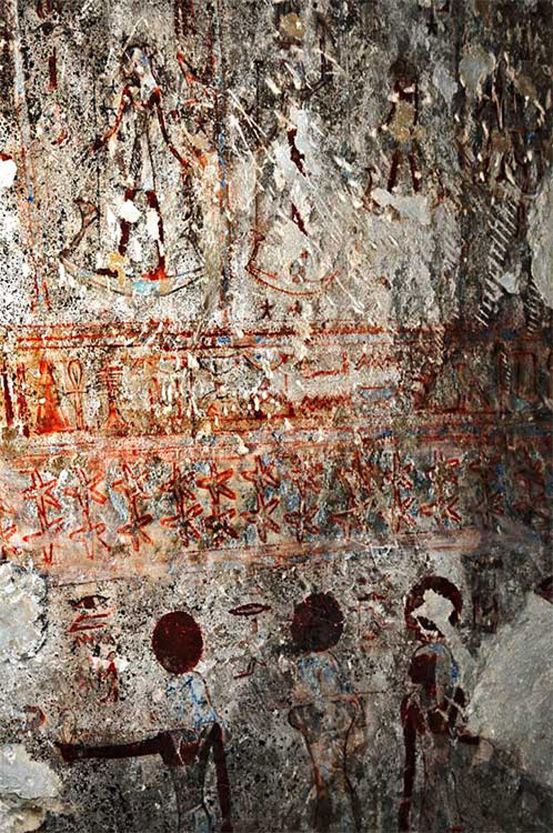 Fresko in Tuna el Gebel