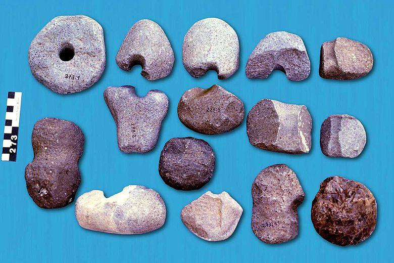 Bergmännische Werkzeugreste aus dem 4. Jahrtausend