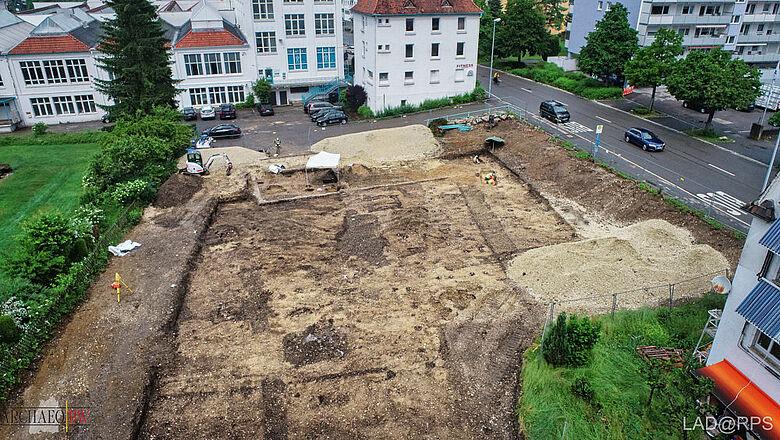 Ausgrabung in Albstadt-Ebingen