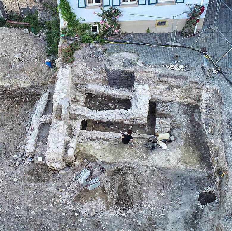 Ausgrabung Bad Krozingen
