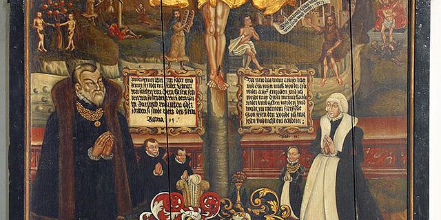 Epitaph für Heinrich von Reden und Anna