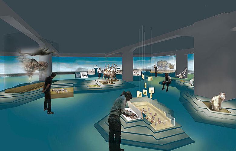Ausstellung im Archäologie-Museum Chemnizt