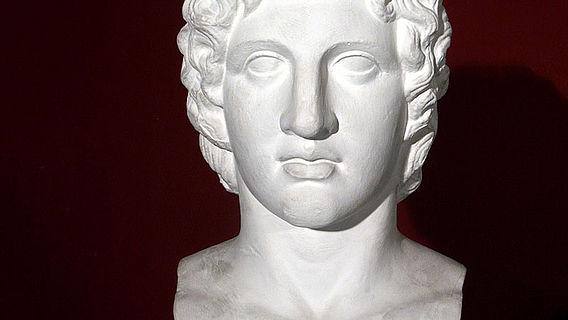 Büste Alexanders des Großen
