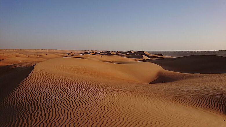 Weite Teile Omans sind heute sehr trocken