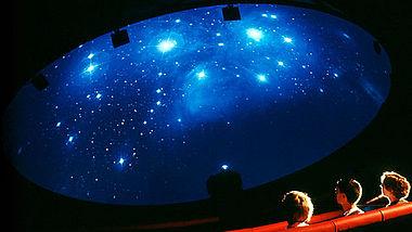 Planetarium in der Arche Nebra