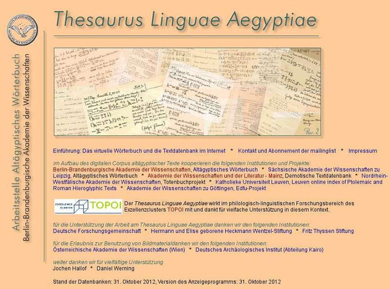 Datierungssynonym Thesaurus
