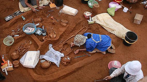 Ausgrabung Vietnam 2007