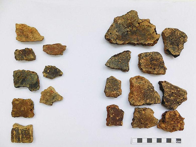 Eisenzeitliche Keramikscherben
