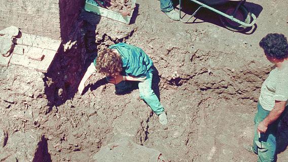 Ausgrabung in Rom