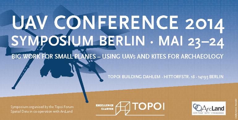 Plakat für die UAV Conference 2014