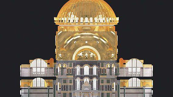 Rekonstruktion der Hagia Sophia
