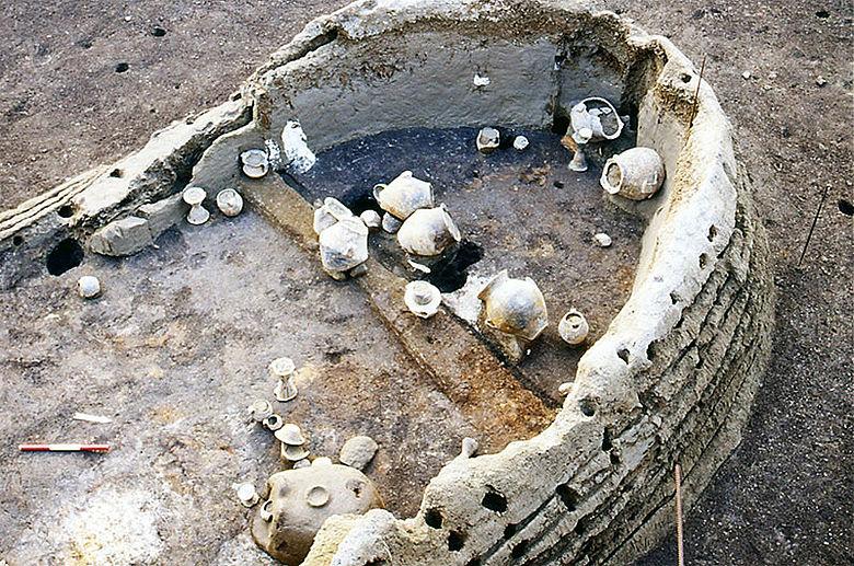 Bronzezeitliches Haus