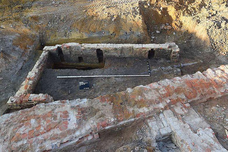 Reste der Klostermauern