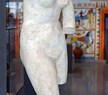 So wird die Liebesgöttin in der Antikensammlung der Universität Jena bei der Museumsnacht heute zu sehen sein. (Foto: Jan-Peter Kasper/FSU)