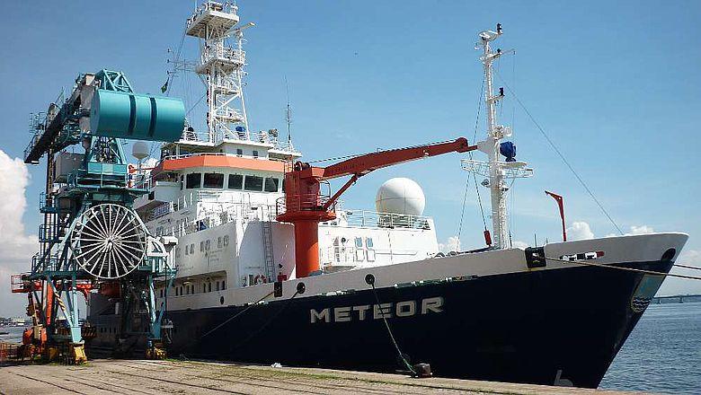 Das deutsche Forschungsschiff METEOR