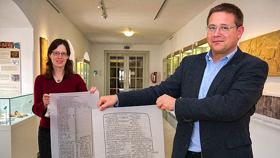 Abschriften babylonischer Keilschriftfragmente