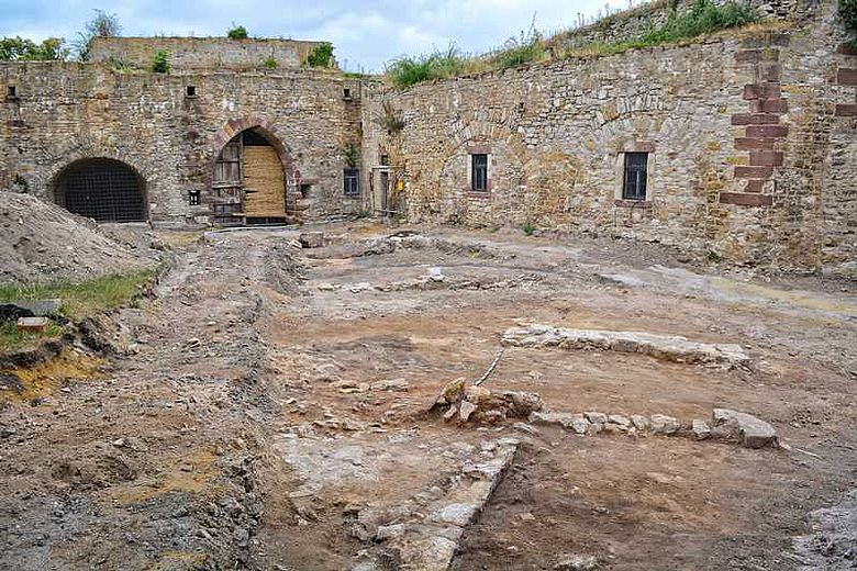 Ausgrabung Burg Querfurt