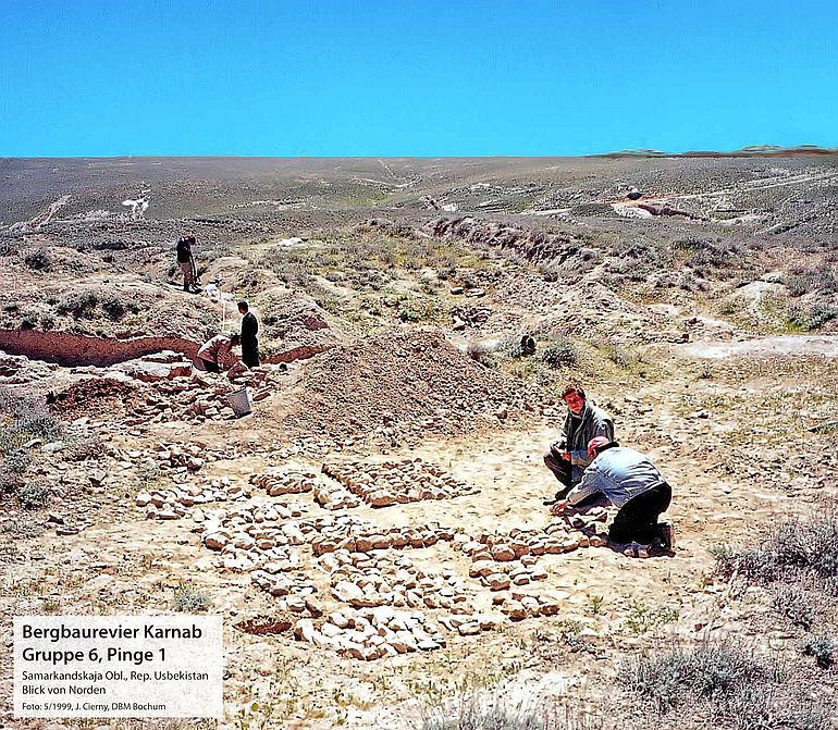 Montanarchäologischer Survey in Usbekistan