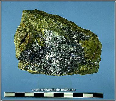 Antimonit - Erzprobe