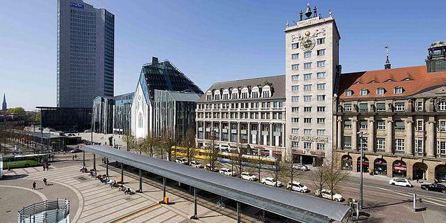 Kroch-Hochhaus am Augustusplatz