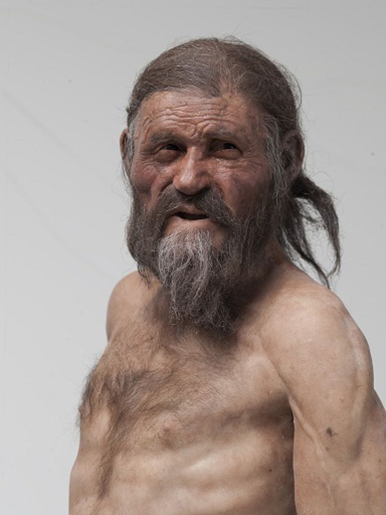Ötzi-Rekonstruktion