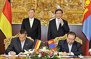 Unterzeichnung des Kooperationsabkommen