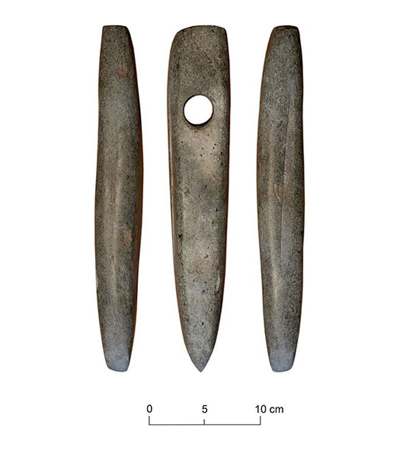 Steinzeit-Dechsel