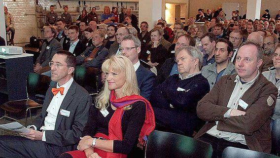 Mit großem Interesse verfolgten die Besucher die Vorträge