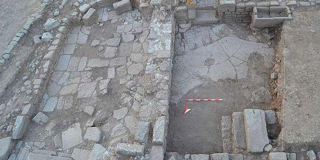 Kapelle und angrenzende Räume eines großen Gebäudekomplexes in Assos