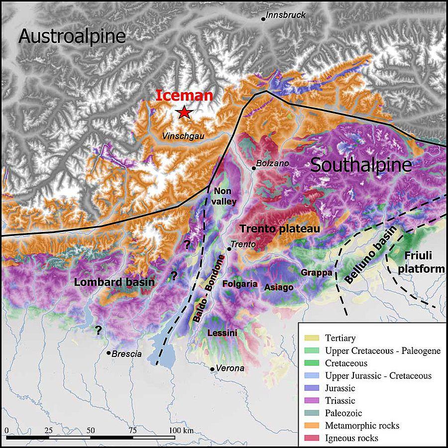 Geologische Alterungsdata