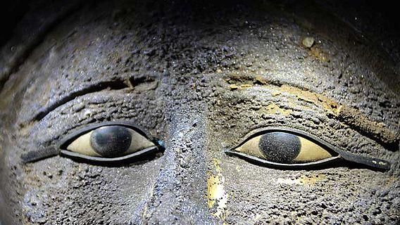 Sakkara-Maske (Detail)