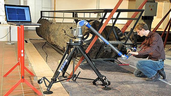 Schiffsdokumentation mit 3D-Scanner