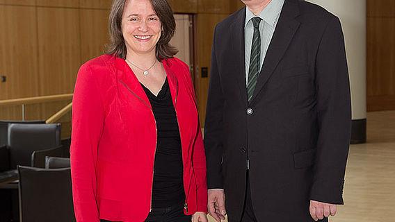 Diane Scherzler und Frank Siegmund