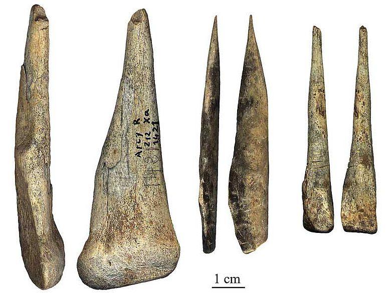 Artefakte von Neanderthalern