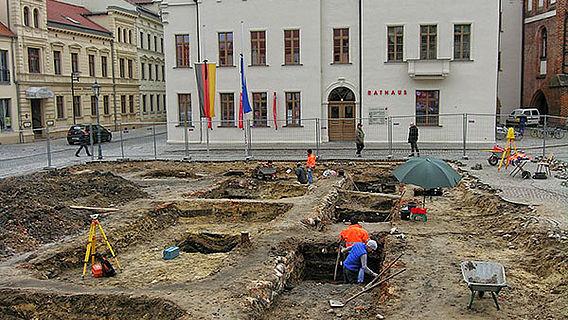 Ausgrabung Stendal
