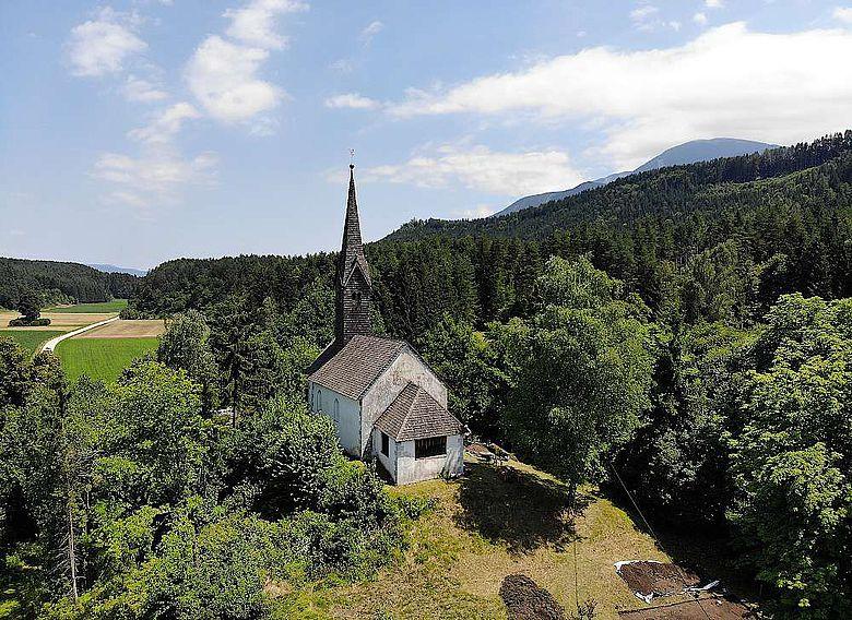 Kirche des Hl. Johannes des Täufers, Jaunstein/Südkärnten