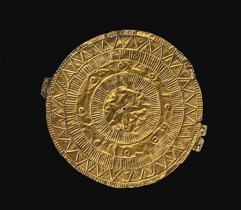 Bronzezeitliche Sonnenscheibe