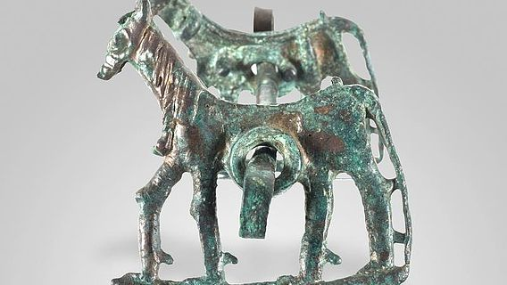 Pferdetrense aus Lurestan, 8. - 7. Jh. v. Chr. (© Michael Benecke)