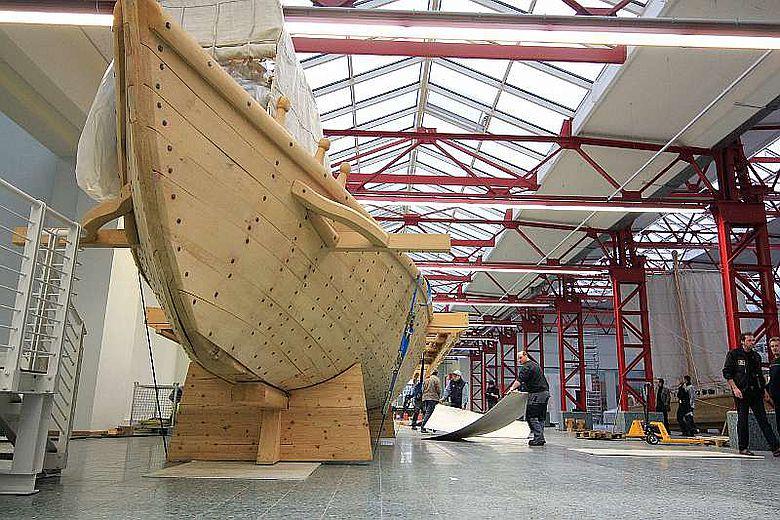 Dieser Nachbau eines der Mainzer Römerschiffe ist ab sofort wieder für die Öffentlichkeit zugänglich (Foto: RGZM/R. Müller)