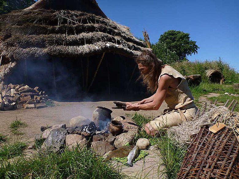 Mesolithische Kochstelle